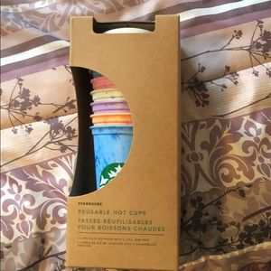 Starbucks Reusable Hot Cups, NWT